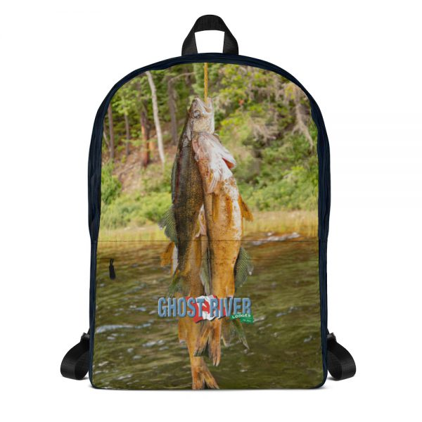 Ghost River Lodges – Backpack – Stringer – Front