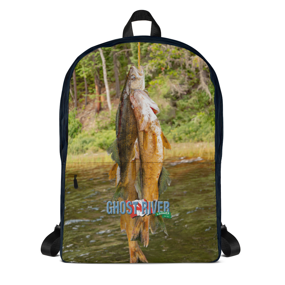 Ghost River Lodges - Backpack - Stringer - Front
