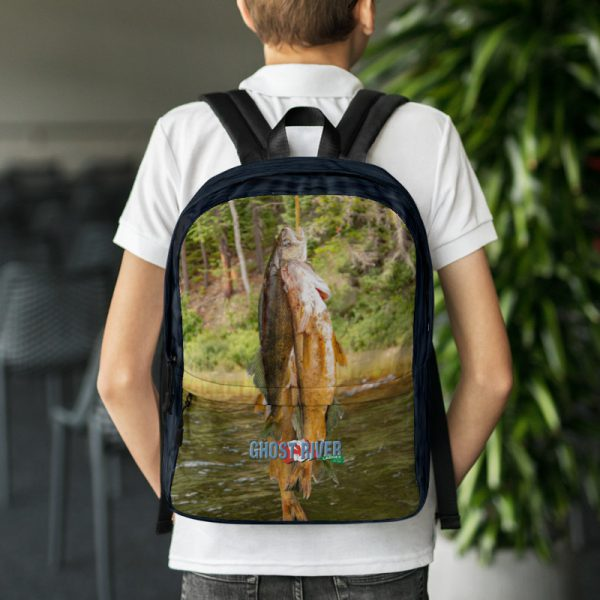 Ghost River Lodges – Backpack – Stringer – Wearing