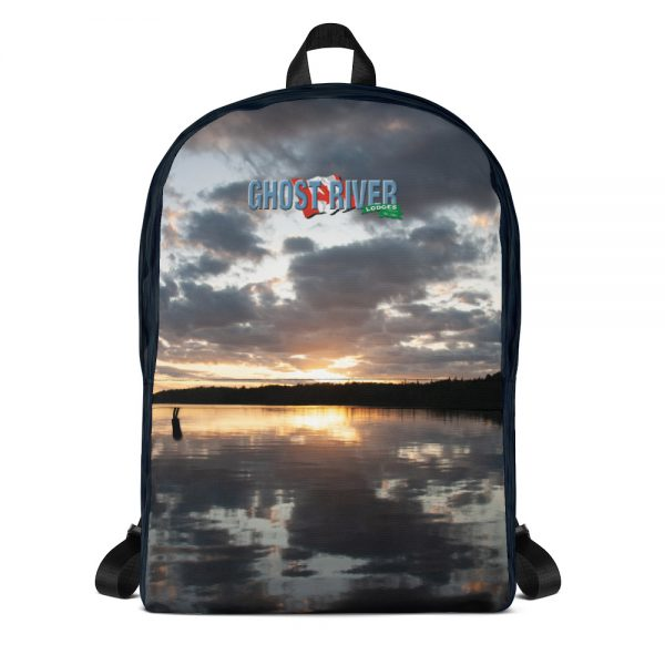 Ghost River Lodges – Backpack – Sunset – Front