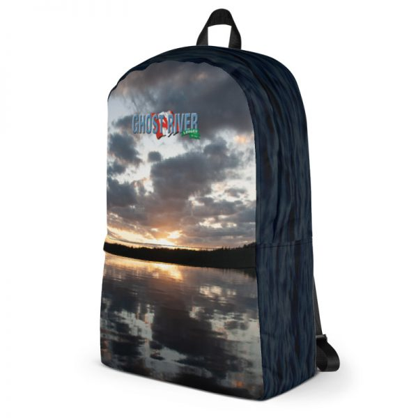 Ghost River Lodges – Backpack – Sunset – Side