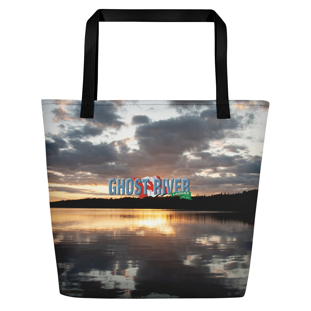 Ghost River Lodges - Beach Bag - Sunset - Front