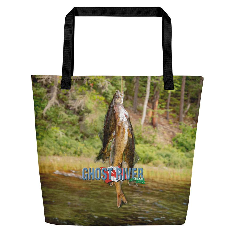 Ghost River Lodges - Beach Bag - Walleye - Front