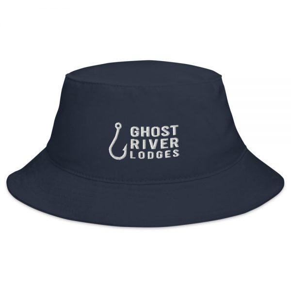 Ghost River Lodges – Bucket Hat – Hook Logo – Navy