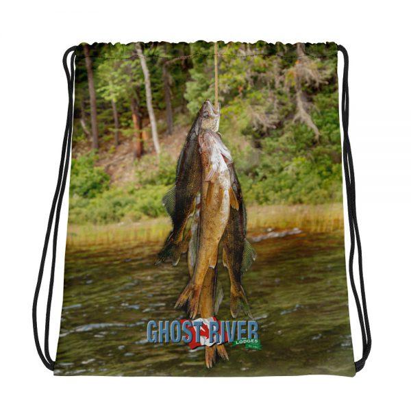 Ghost River Lodges – Drawstring Bag – Stringer – Front