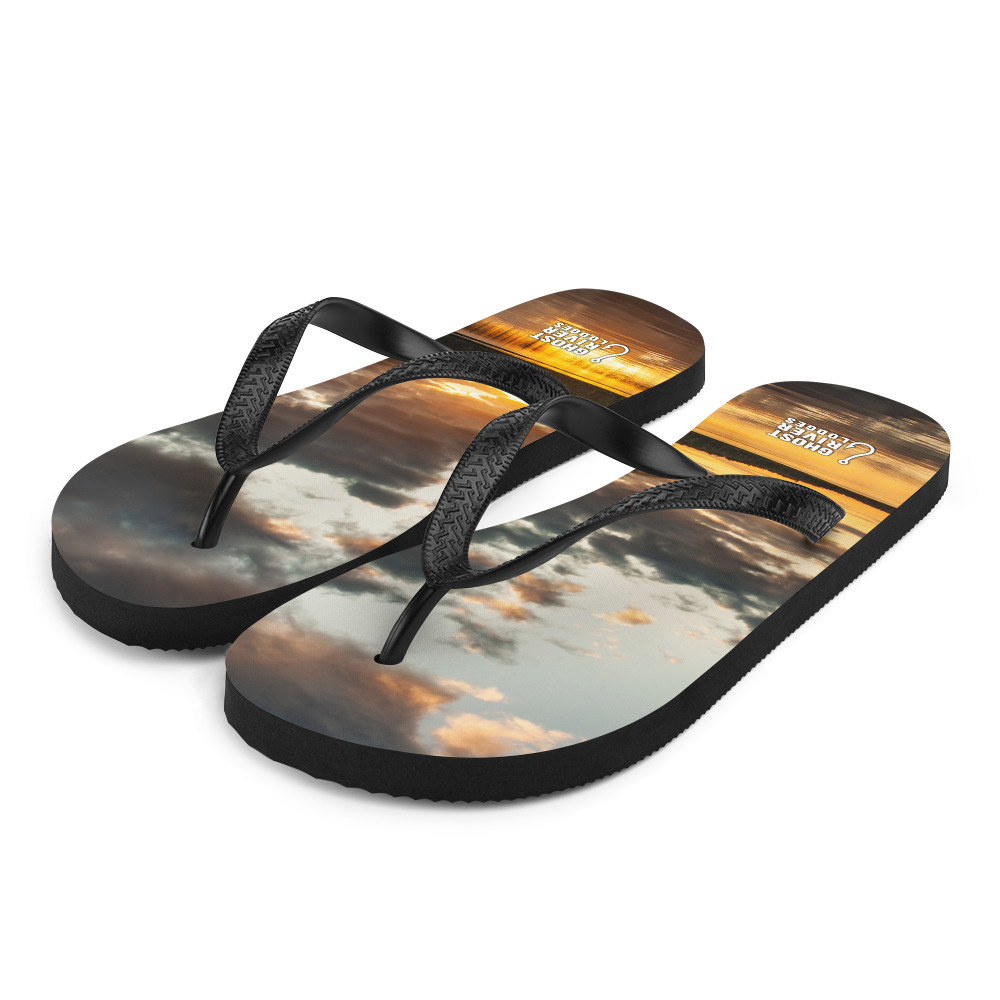 Ghost River Lodges - Flip Flops - Sunset