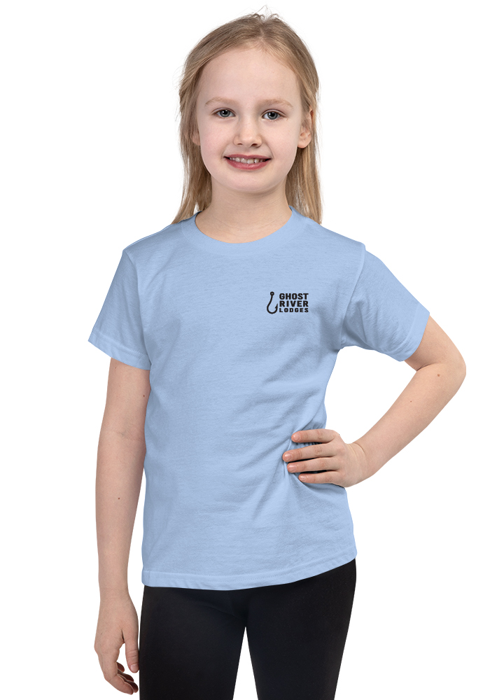 Ghost River Lodges - Kids Light Blue Tshirt