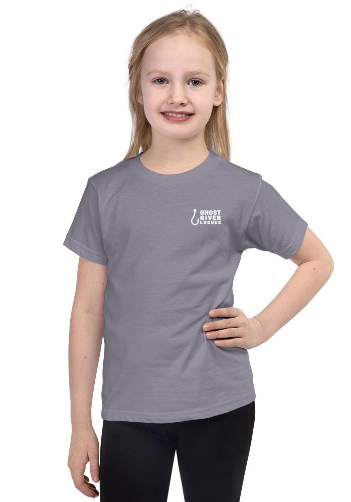 Ghost River Lodges - Kids Slate Tshirt