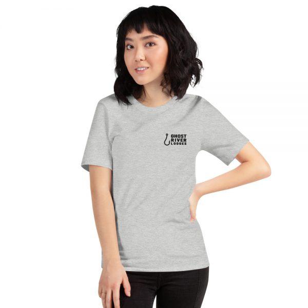 Ghost River Lodges – Ladies Grey Tshirt