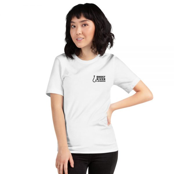 Ghost River Lodges – Ladies White Tshirt