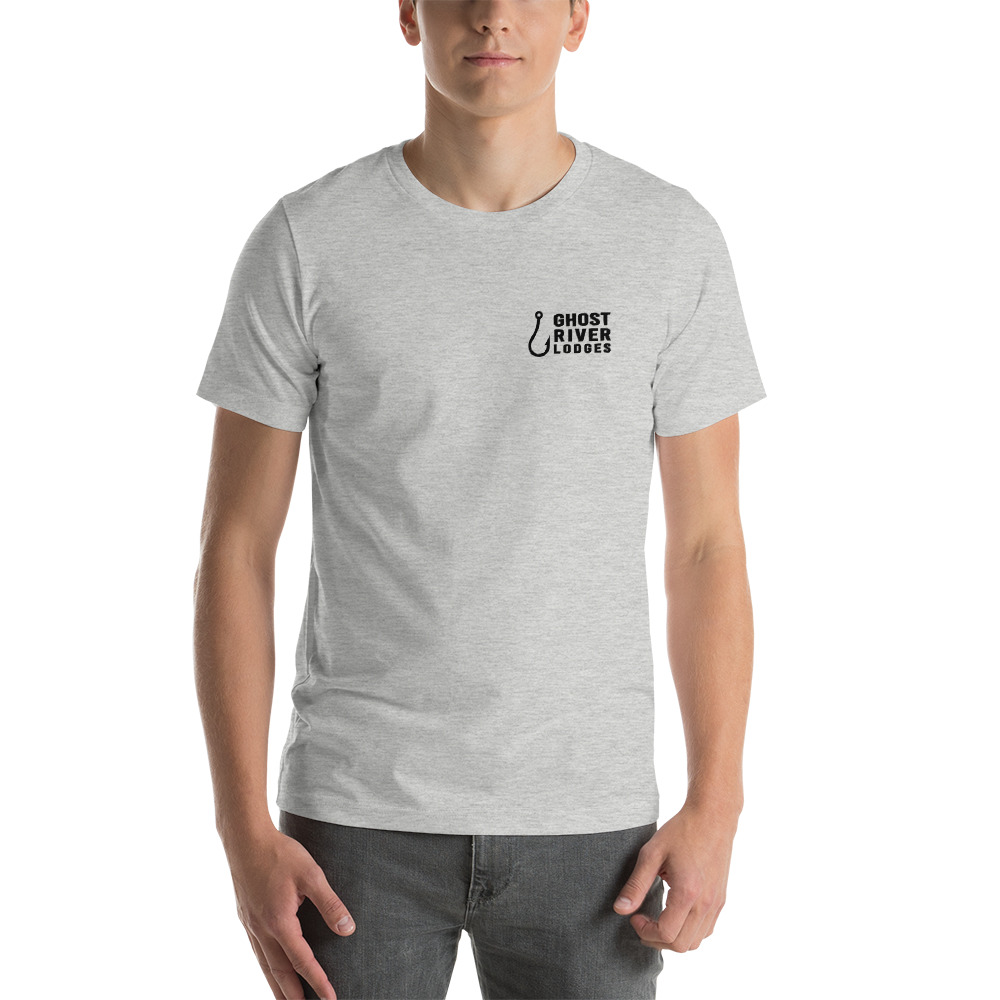 Ghost River Lodges - Mens Grey Tshirt