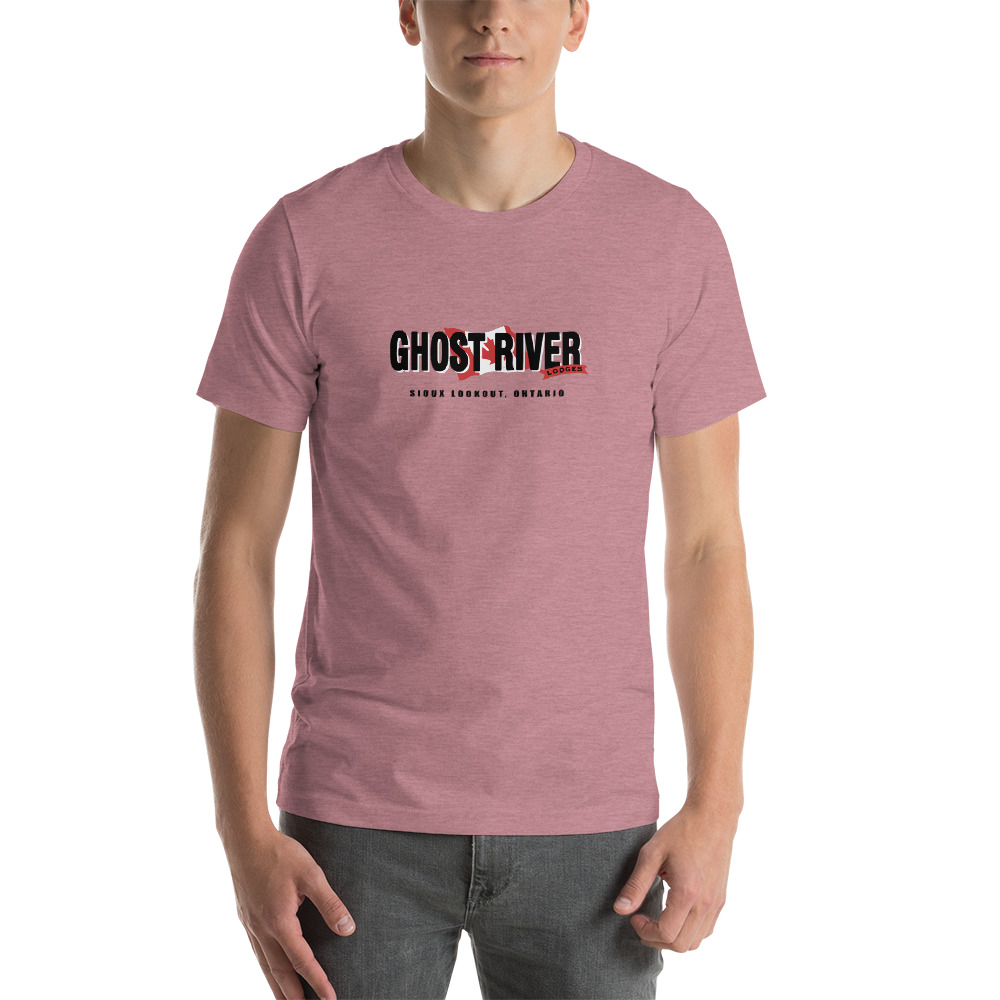 Ghost River Lodges - Mens Heather Orchid Classic Tshirt