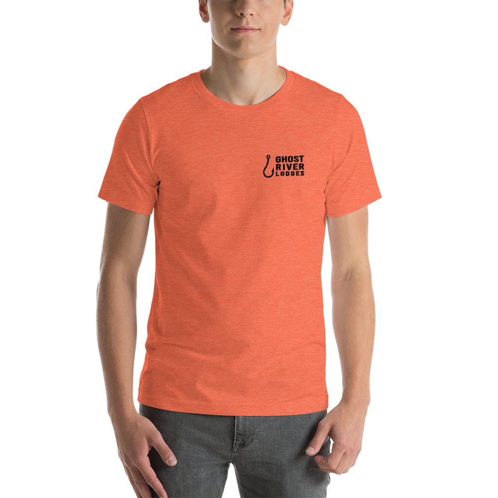 Ghost River Lodges - Mens Orange Tshirt