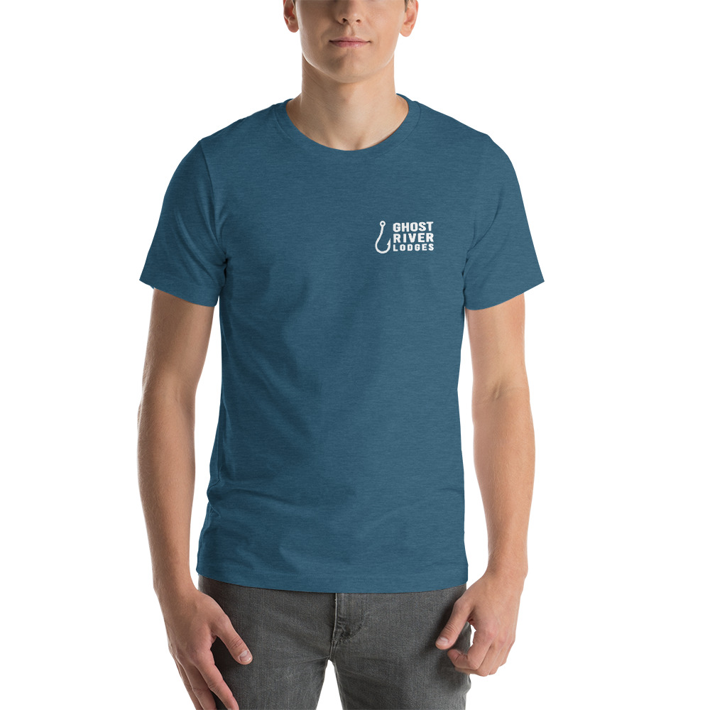 Ghost River Lodges - Mens Teal Tshirt