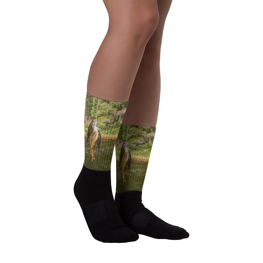 Ghost River Lodges - Socks - Stringer - Front