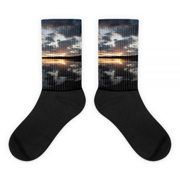 Ghost River Lodges – Socks – Sunset – Flat