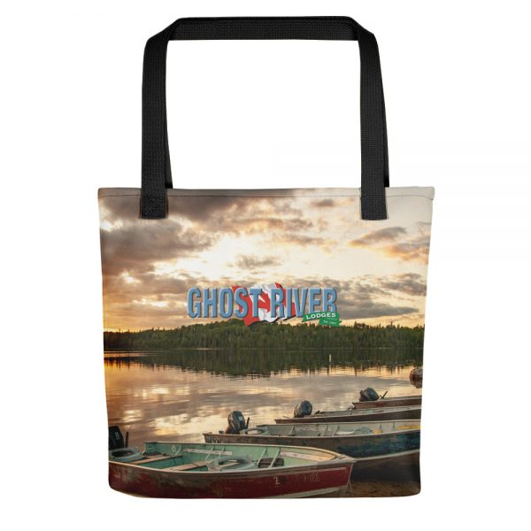 Ghost River Lodges – Tote – Boats – Front