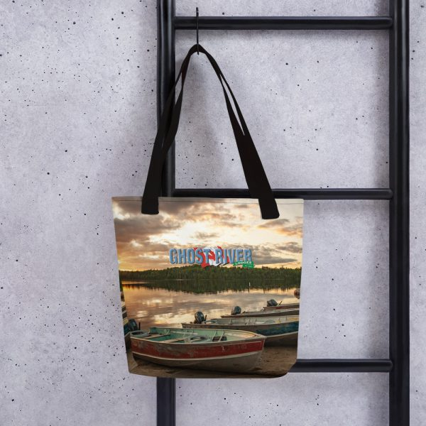 Ghost River Lodges – Tote – Boats – Hanging