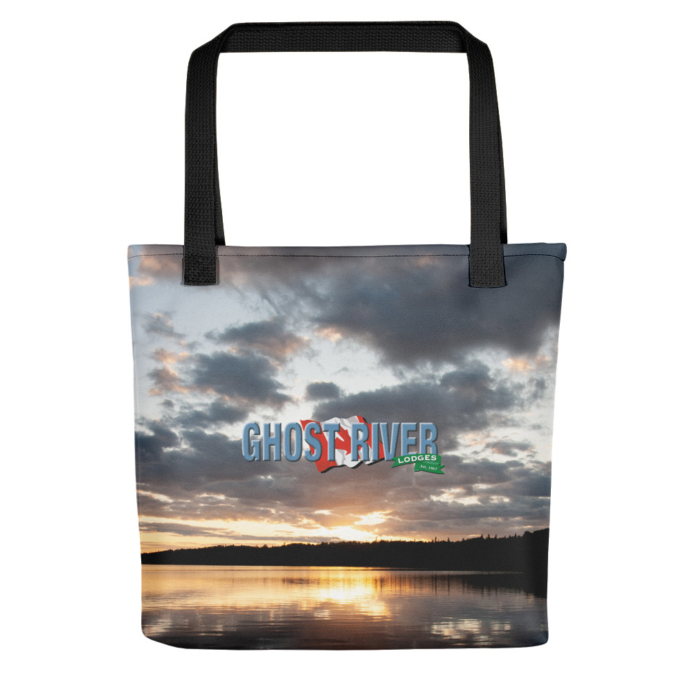Ghost River Lodges - Tote - Sunset - Front