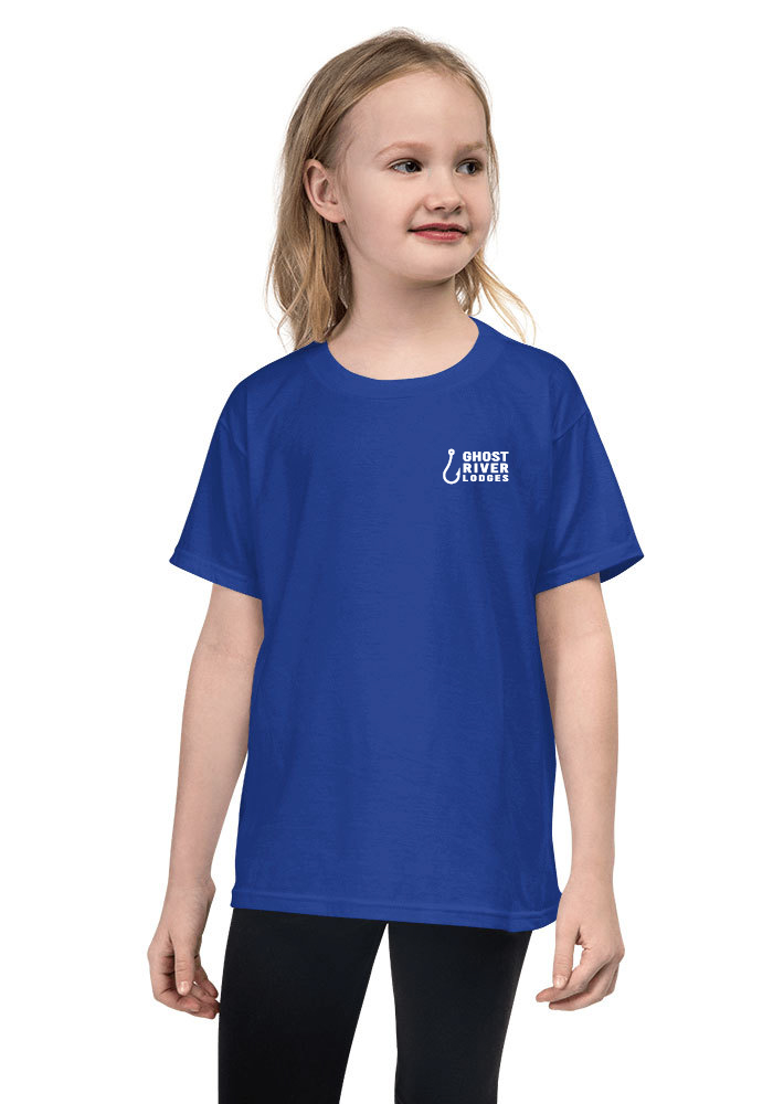 Ghost River Lodges - Youth Royal Blue Tshirt