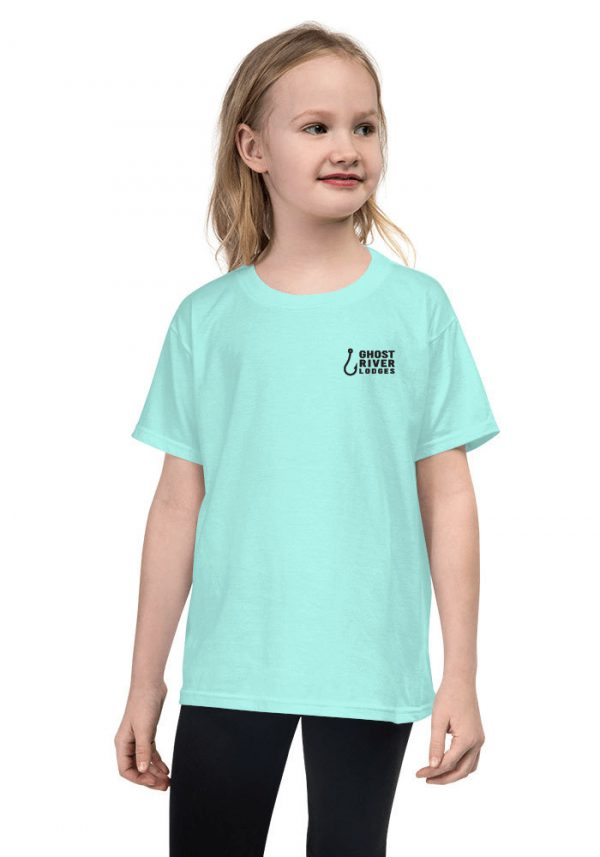 Ghost River Lodges – Youth Teal Ice Tshirt