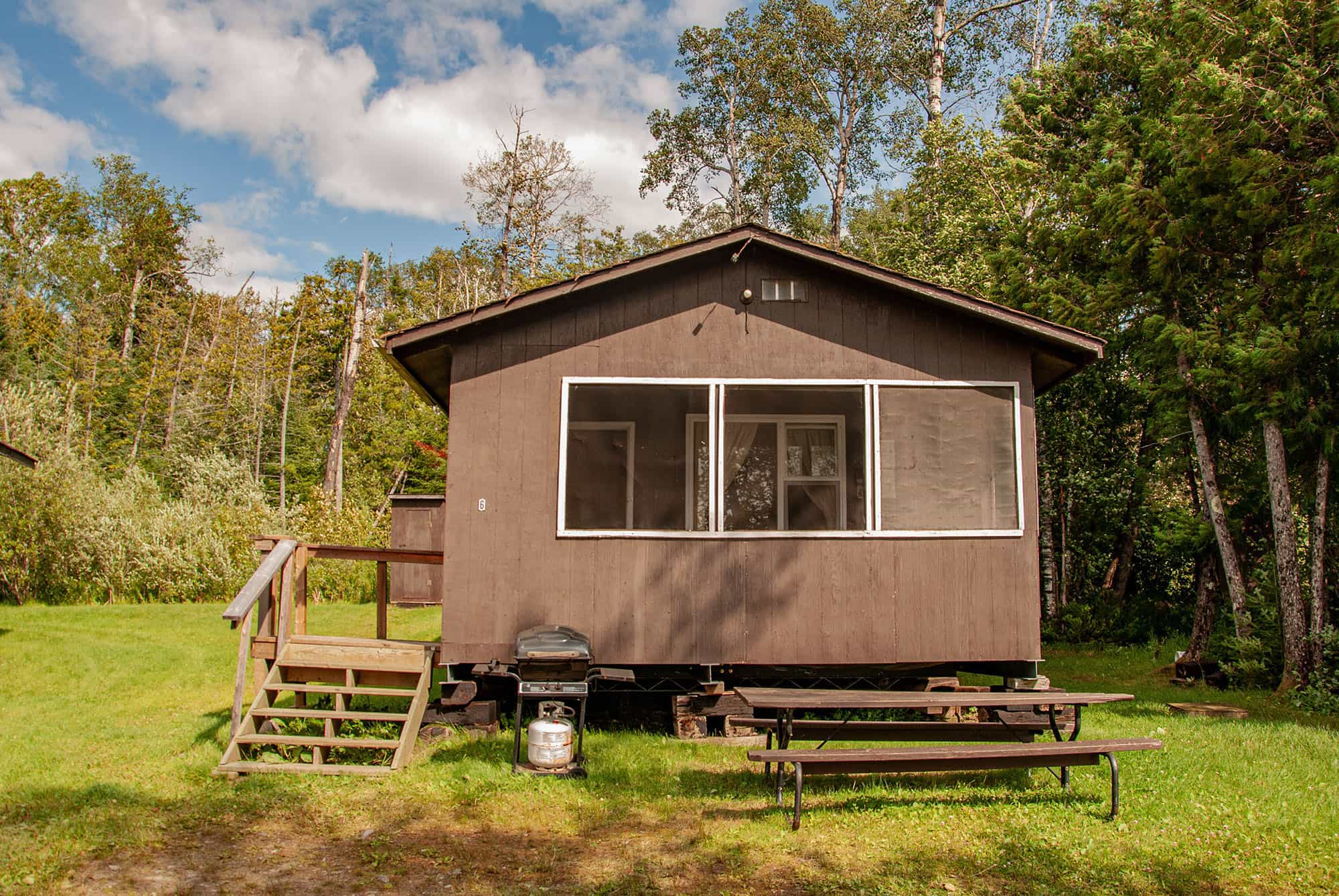 Ghost River Lodges - Cabin 6